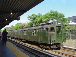 Coney Island Nostalgia Train; R1/9 train; Brooklyn