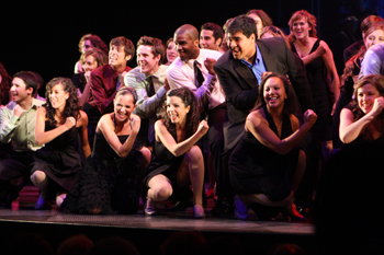 2010 National High School Musical Theater Awards; 2010 Jimmy Awards Semi-Finalists performing on stage