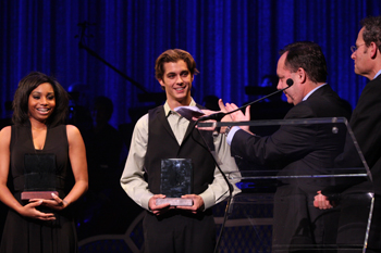 2010 Jimmy Awards winners Alexandria Payne and Kyle Selig