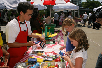 Science farmers market at new york hall of science, nysci