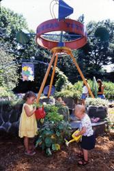 Brooklyn Botanic Garden; children's garden; children gardening