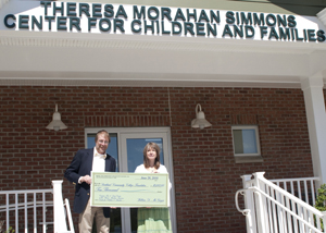 Theresa Morahan Simmons Center for Children and Families, SUNY Rockland; Professor William McGregor and Kyle Miller, Campus Fun & Learn Child Development Center