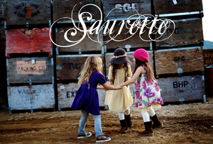 Saurette children's clothing line; girls' brand name clothes