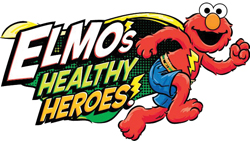 Elmo's Healthy Heroes!; Elmo from Sesame Street