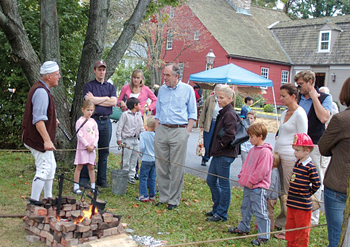 The Harvest Festival at the Darien Historical Society
