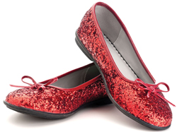 Dorothy's ruby slippers; The Wizard of Oz