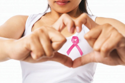 Breast Cancer Awareness Month; pink ribbon for breast cancer awareness