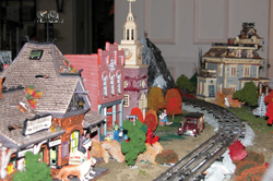 Halloween Train Display at Lasdon Park, Somers, NY