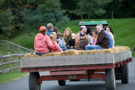 fall hayride; fall festivals in westchester county, new york