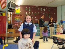 Emanuel Lutheran School; kids in a classroom