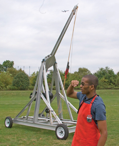 catapult at New York Hall of Science