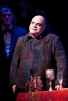 Uncle Fester from The Addams Family musical on Broadway