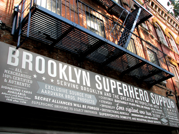 Brooklyn Superhero Supply Company, Park Slope