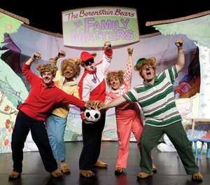 The Berenstain Bears in Family Matters; Berenstain Bears musical on stage