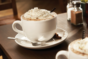 mug of hot chocolate with whipped cream; hot cocoa