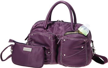 The Momma Couture<sup>TM</sup> Satchel, purple
