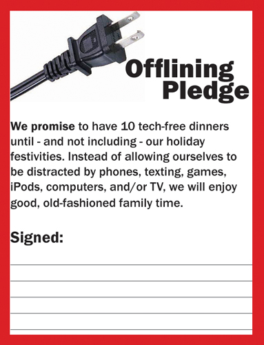 Offlining Pledge