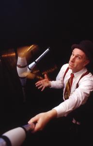 Will Shaw, comedic juggler
