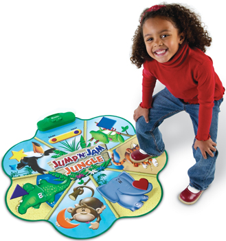 Jump n Jam Jungle Talking Floor Mat by Learning Resources; toys for kids with Autism