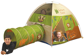 Safari Tunnel and Tent by Pacific Playtents