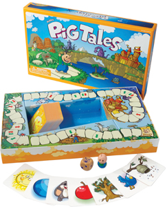Pickles' Pig Tales board game