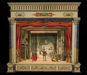 miniature theater display