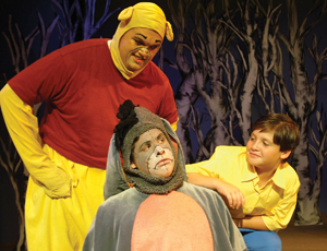 Winnie the Pooh on stage, theater; A Winnie the Pooh Christmas Tail
