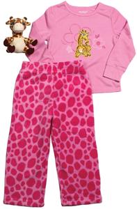Garanimals sleepwear, pink giraffe