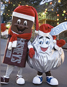 Christmas in Hershey Park, Pennsylvania