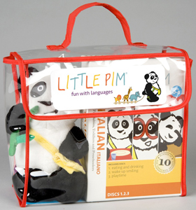 Little Pim Italian kit for kids