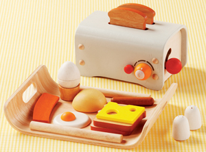 children's Breakfast in Bed set from Land of Nod