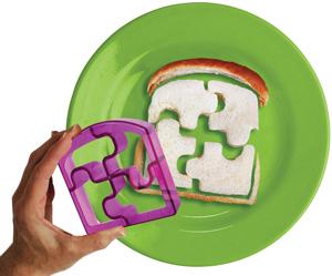 Puzzle Bites sandwich cutter