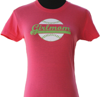 GirlMom pink t-shirt