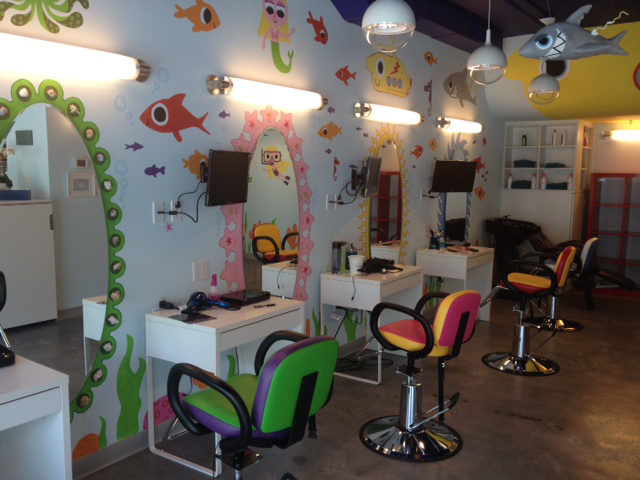 Hair Salon Kids : At Edamama Cute Cuts and More, children have the option of sitting at ...
