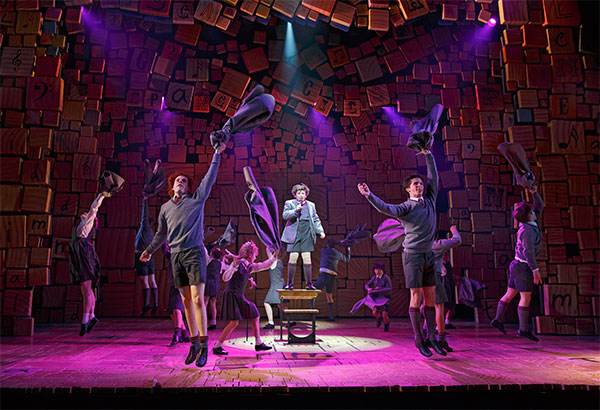 Matilda the Musical on Broadway 1