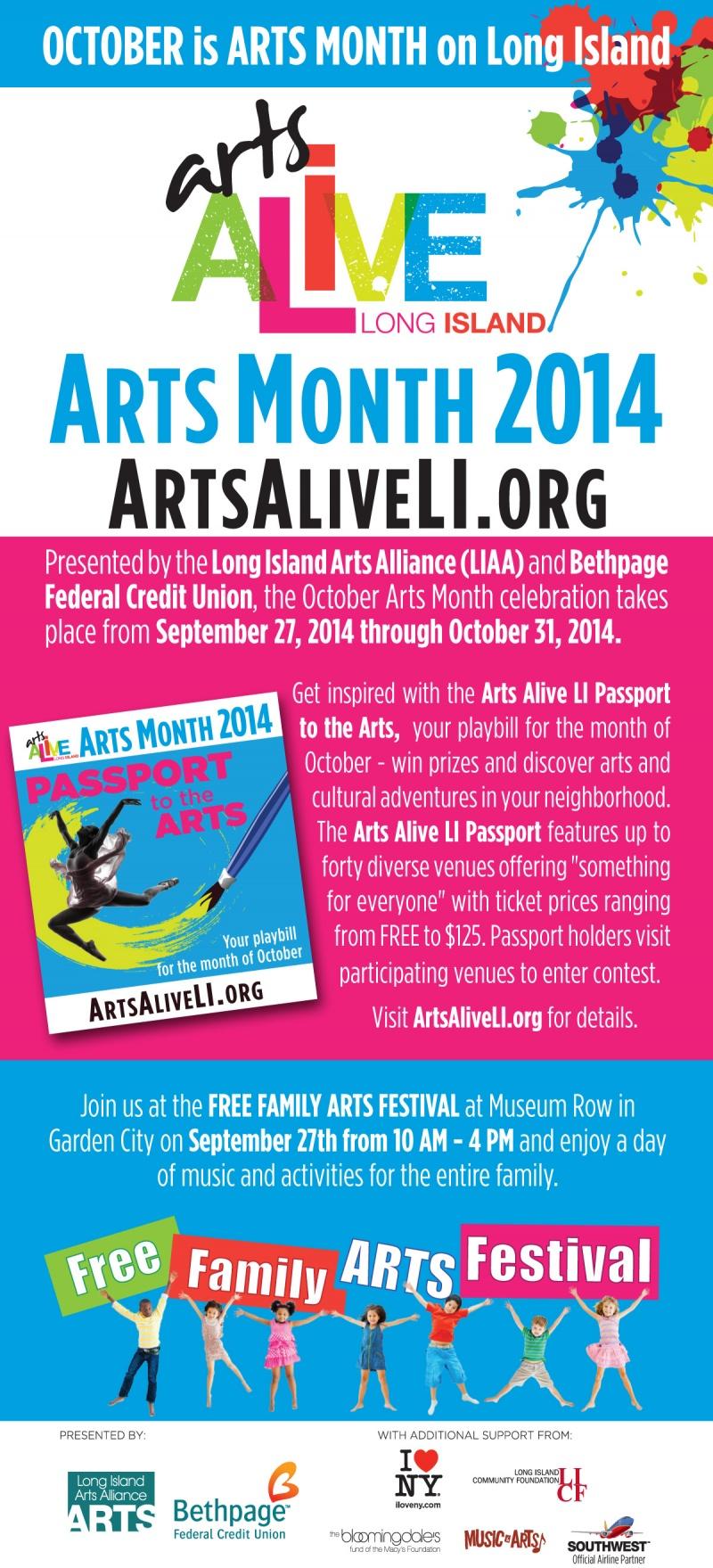Arts Alive LI