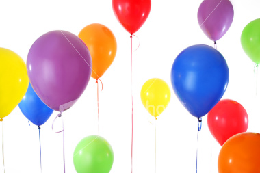 balloons for a birthday celebration