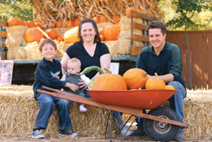 pumpkin picking farm