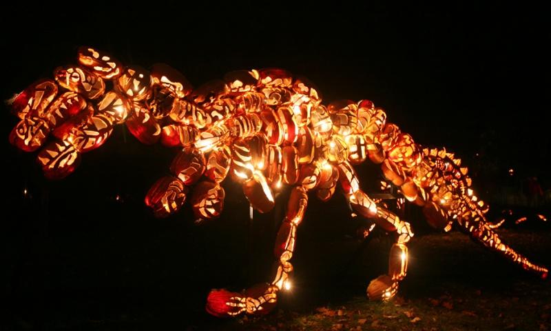 Great Jack O Lantern Blaze T Rex