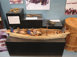 Cold Spring Harbor Whaling Museum exhibit