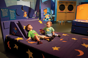 Night Journeys exhibit at Brooklyn Children's Museum