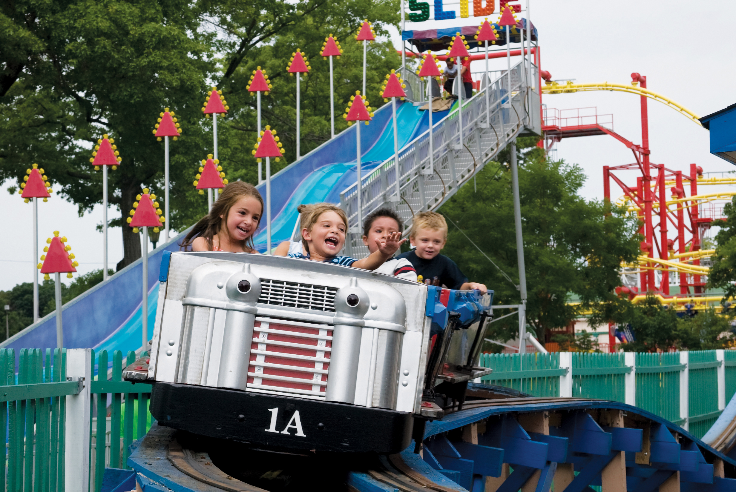 Kiddy Coaster at Rye Playland
