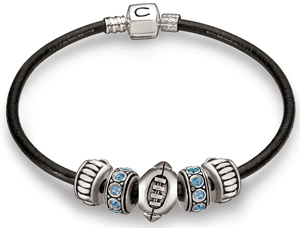 Chamilla bracelet with football charm
