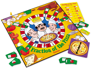 Fraction of the Pizza board game