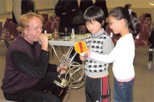 Symphony 101; music lesson