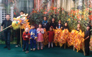 Chinese New Year festival with children