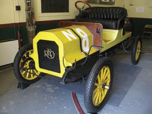 1909 Reo Gentleman's Roadster; classic car; vintage