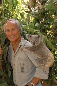 Jack Hanna and koala
