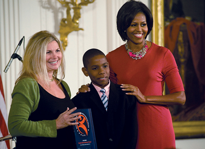Michelle Obama awards Brooklyn Cultural Adventures Program (BCAP)