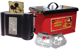 vintage Mickey Mouse toaster by Disney